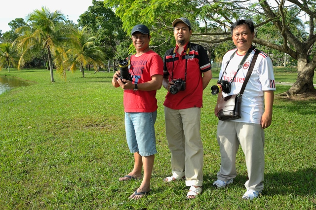 thanks for the trust & great time with you all bosku :) (Saturday) 26 January 2013 - Tasik Kompleks Sukan Likas